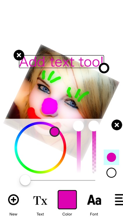 Draw on Photos - Stamp Stickers, Paint, Sketch and add Text Art to your Images screenshot-3