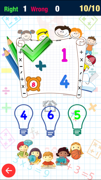 Screenshot #3 pour Math Fact Montessori : Addition, Subtraction, Multiplication, Division And Mix Operation