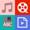 AVDic Player for iPad  ( ALL-IN-1 Language Learning.. with.. subtitles/txt/pdf reader, mp3/movies/music player, ted talks, vocabulary, free ted live music download, english dictionary & translator for spanish,french,chinese, etc. Learn english ! )