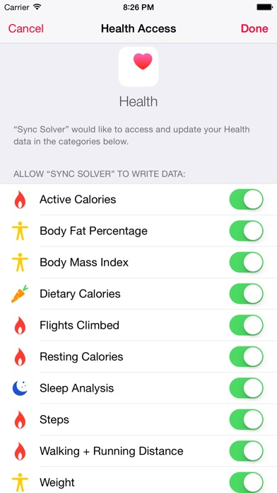 Sync Solver for Fitbit Screenshots