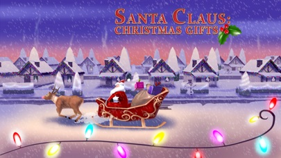 A Santa Claus: Christmas Gifts Free - 3D Sleigh Driving Game