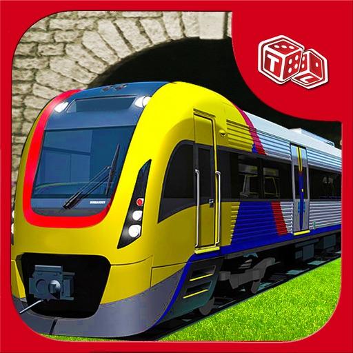Поезд гоночный симулятор