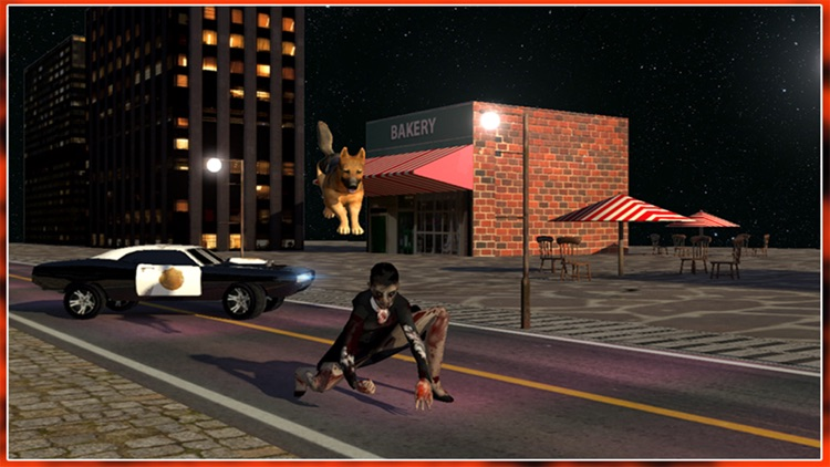 Police Dog vs Zombies Attack screenshot-3
