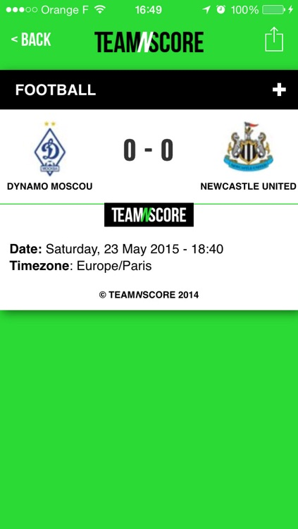 TeamNscore screenshot-3