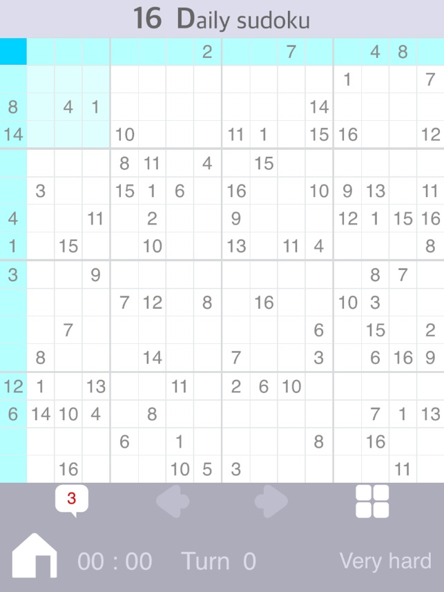 Daily Sudoku 16 on the App Store