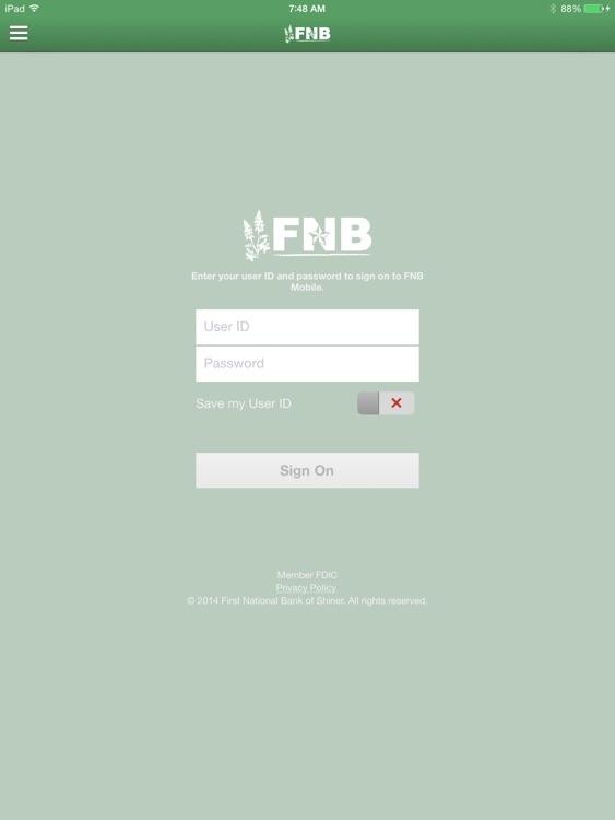 FNB Shiner for iPad