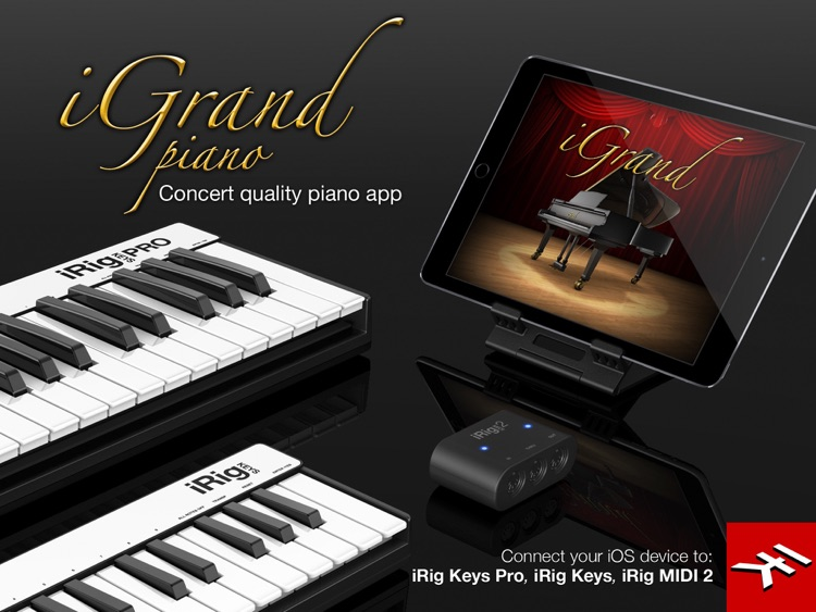 iGrand Piano for iPad screenshot-1