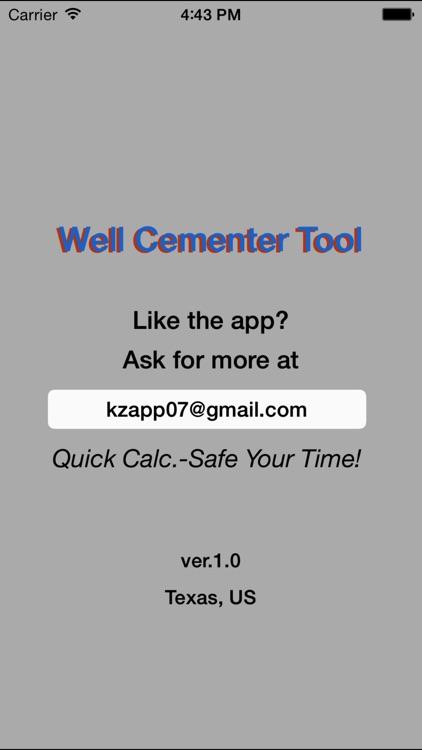 Well Cementer Tool screenshot-4