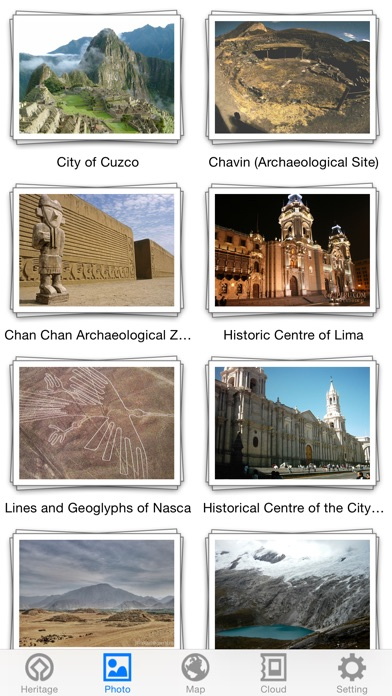 World Heritage in Peru for Windows
