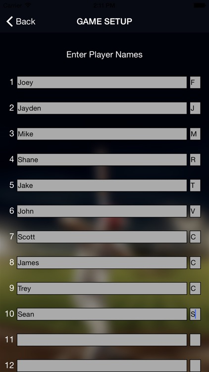 Lineup Buddy screenshot-4