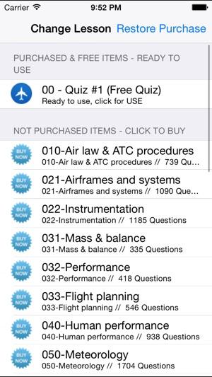 ATPL Offline - JAA/FAA ATPL Pilot Exam Preparation + EuQB