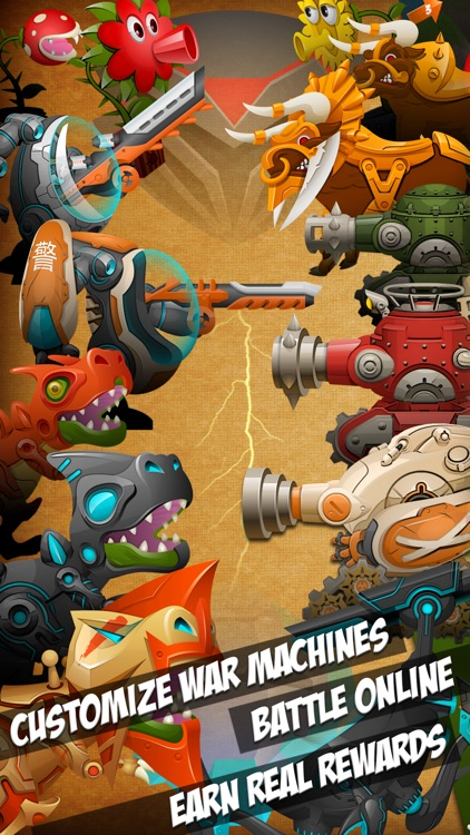 Eenies™ at War (FREE) : Scorched Earth multiplayer online MMORPG battle game for iPhone & iPad screenshot-0