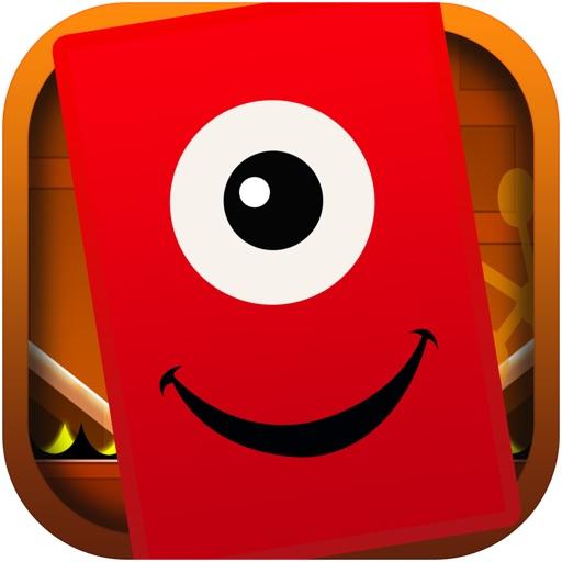 Advanced Techno Square Jump - Geometry Dash Game