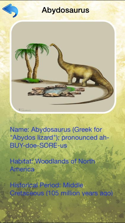 Dinosaur Dictionary - All Information About Dino Races screenshot-4