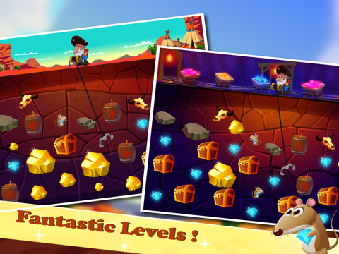 Crazy Gold Miner HD Edition Classic-ipad-0