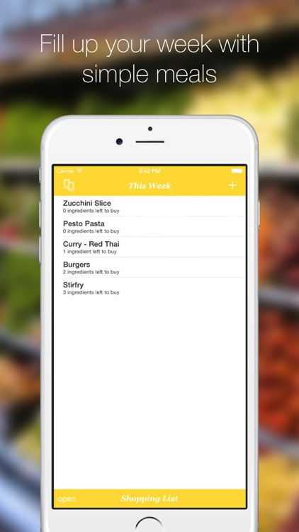 Dinner Plans - The Simple Meal Planner