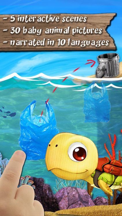 Nature : Bert Save the Earth,  The story app for boys and girls to learn simple actions to protect the planet screenshot-3