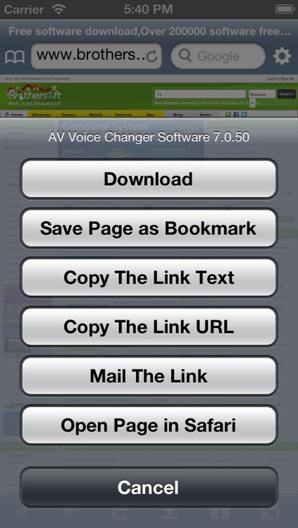 High-Speed Download - File Download Manager screenshot-1
