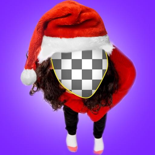 Merry Christmas Funny Photo Booth -  Make Santa Claus & ELF Yourself Camera App