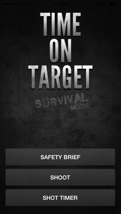 Time on Target - Survival Mode