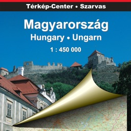 Hungary. Road map.