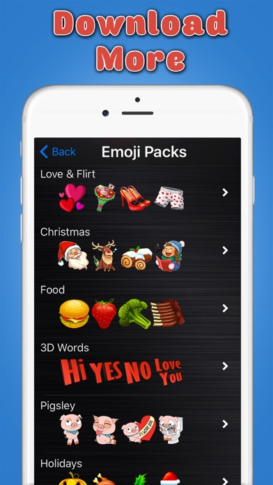Big Emoji Keyboard - Stickers for Messages, Texting & Facebook-4