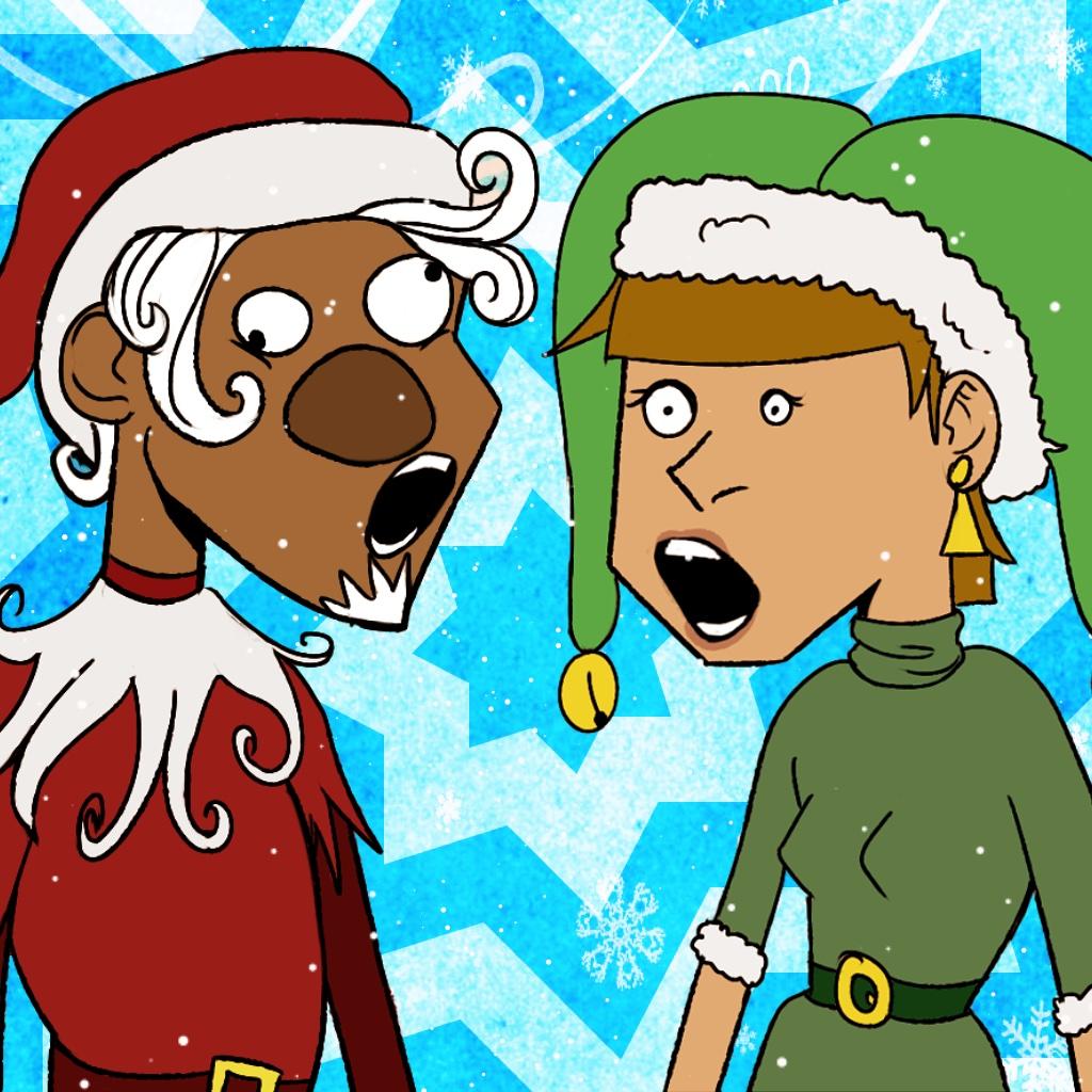 Singing Christmas Elves Free