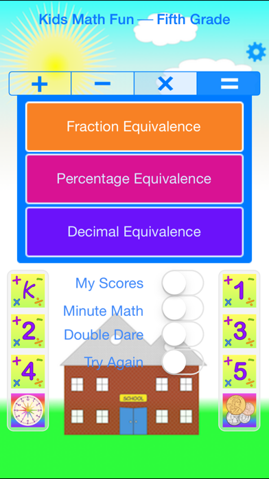 Kids Math Fun — Fifth Gradeのおすすめ画像1