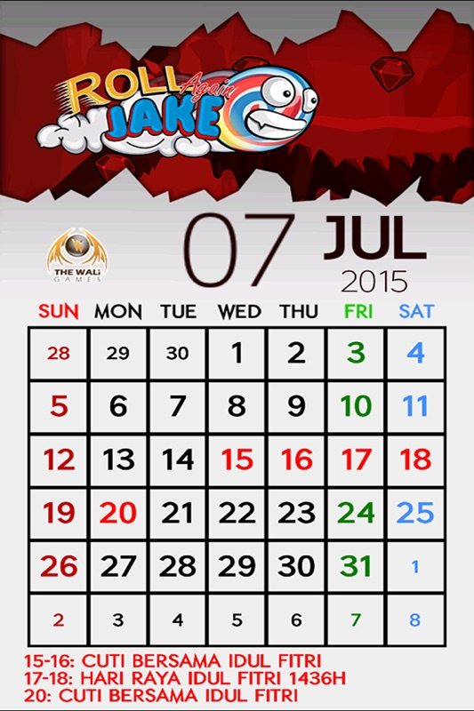 Kalender Indonesia 2015 - Online Game Hack and Cheat