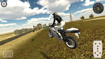 Extreme Motorbike Racer 3D screenshot one