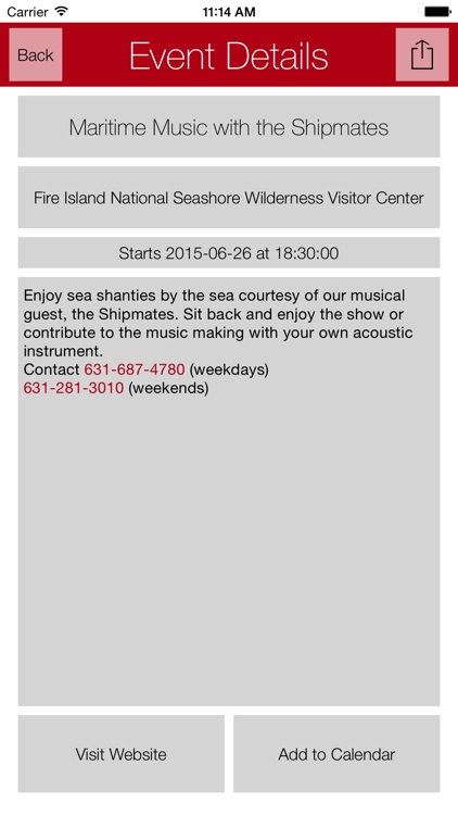 Fire Island App screenshot-1