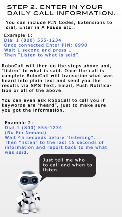 RoboCall - Automated Calling screenshot-2