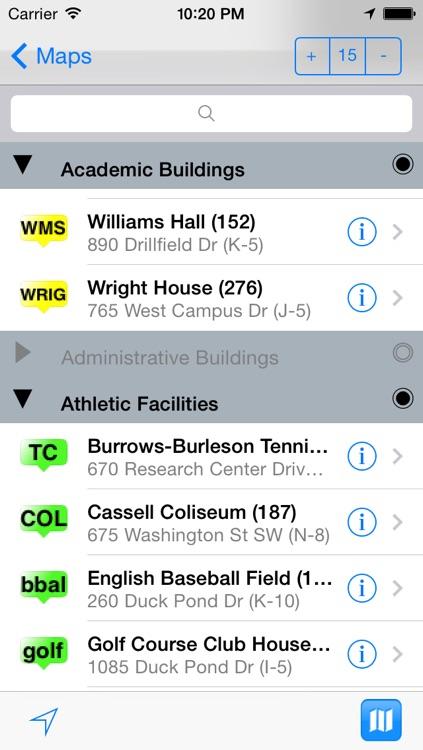 eMap VT : Virginia Tech