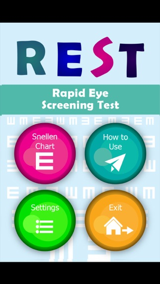REST Rapid Eye Screening Test