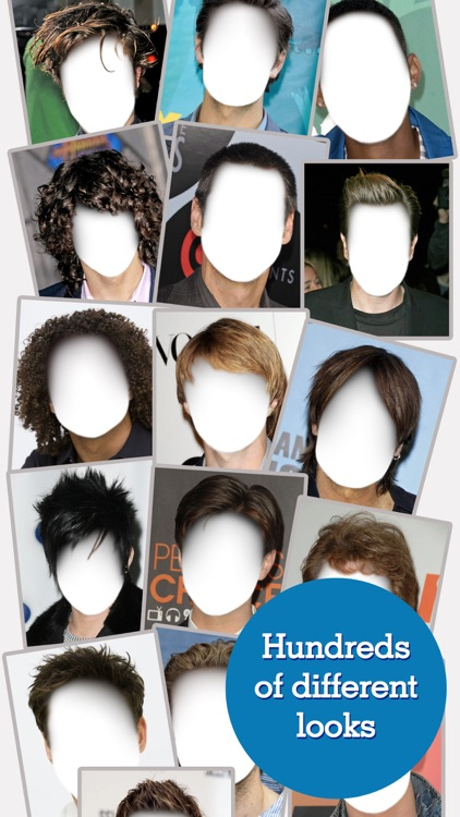FACEinHOLE® Hairstyles for Men - Change your haircut and try a cool new look