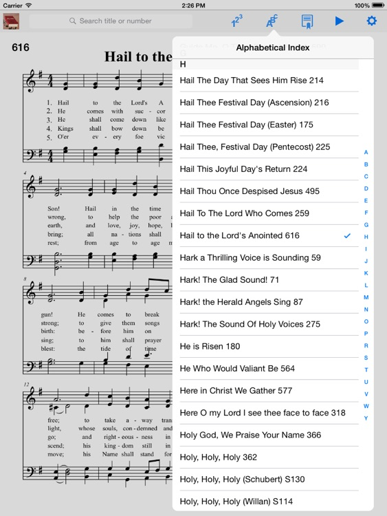 Episcopalian Hymnal screenshot-4