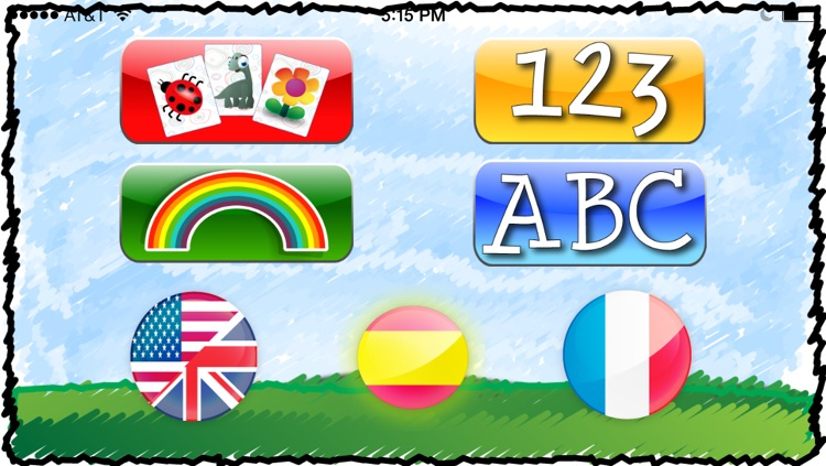 LinguiMind ABC's, Numbers, Colors, Letter Flash Cards, in English, Spanish + French