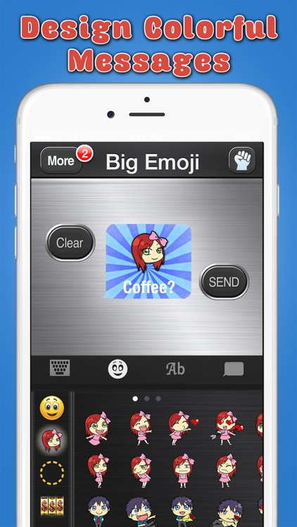 Big Emoji Keyboard - Stickers for Messages, Texting & Facebook