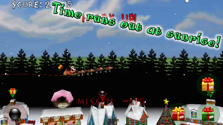 Christmas Run! Angry Santa's Revenge! FREE screenshot-3
