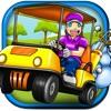 Boys無料でゴルフのレースドライバーゲームの3Dゴルフカートレースやドライビングゲーム