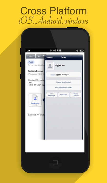 My Contacts Backup Tool - Transfer your address book to new iOS,Android,Windows devices