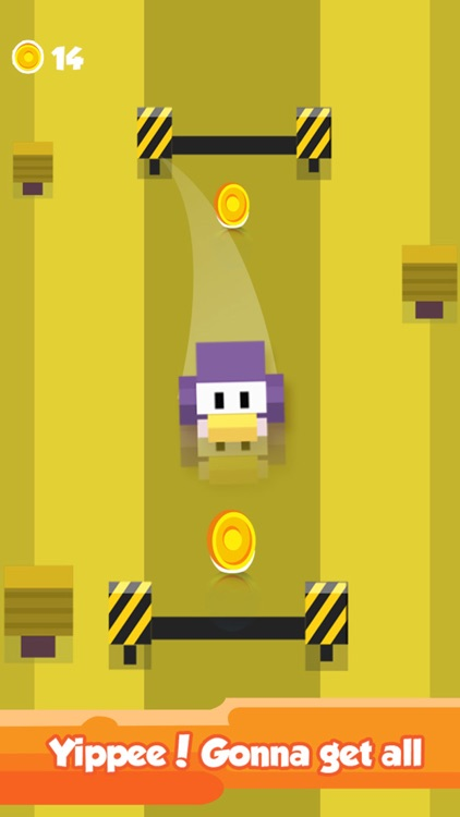 Blocky Duck Crosses the Highway – Endless Tiny Bird Escape
