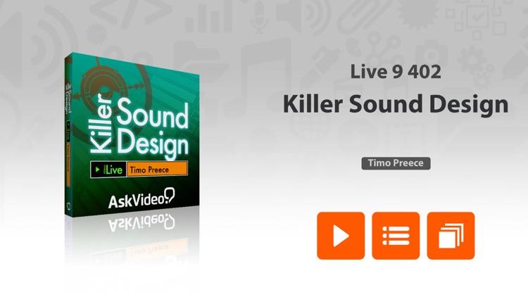 Killer Sound Design in Live 9