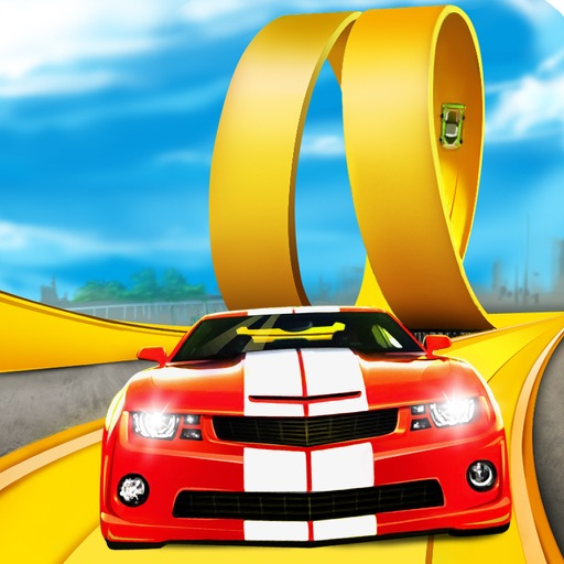 3D Stunt Car Rider PRO - Full eXtreme Nitro Stunt Version