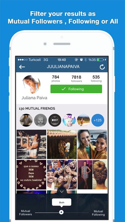 MutualFriends for Instagram