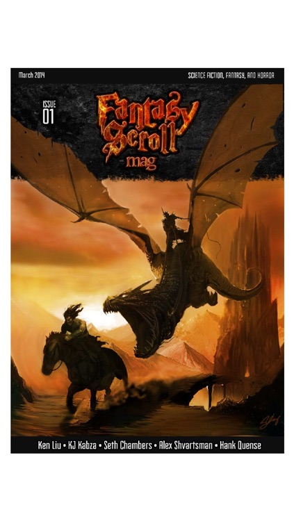 Fantasy Scroll Magazine: high quality and entertaining fantasy fiction