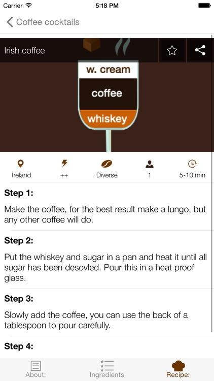 Cup of Joe - Complete coffee recipe guide screenshot-4