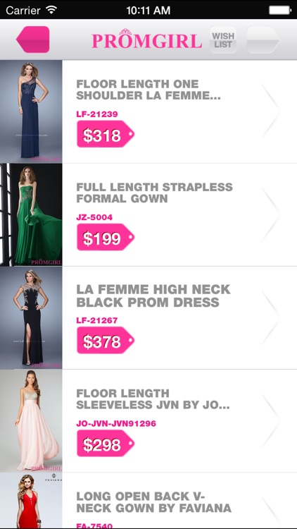 Promgirl Shop screenshot-1