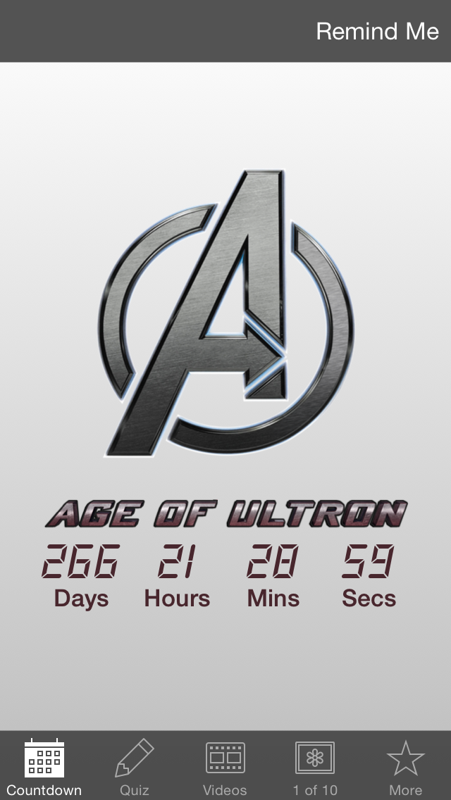 Countdown - Avengers: Age of Ultron Edition screenshot one