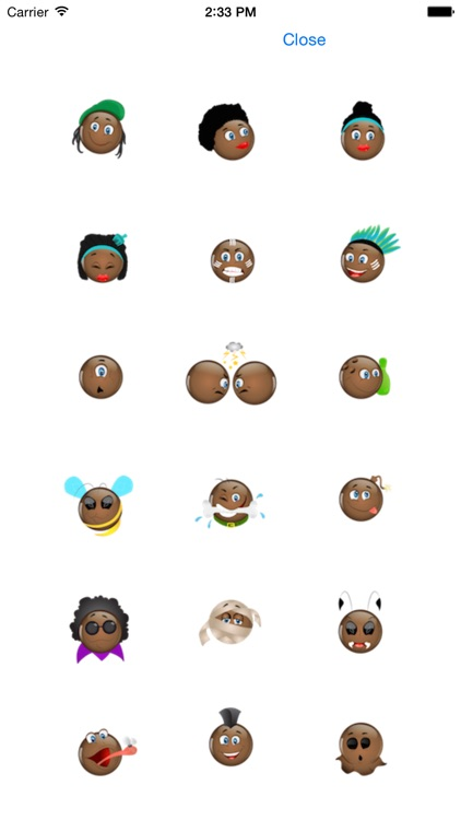 Black Emojis screenshot-4